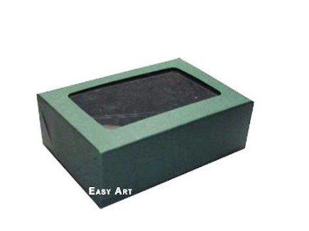 Caixa para 6 Brigadeiros - Verde Musgo