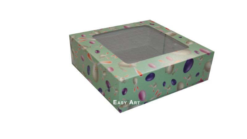 Caixas para Bombons Linha B - 12x12x3,7
