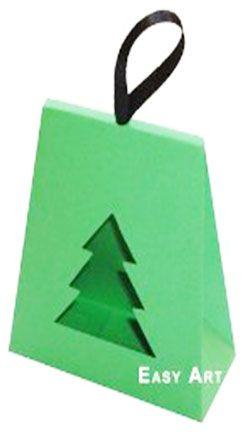 Caixa Árvore de Natal - Verde Pistache