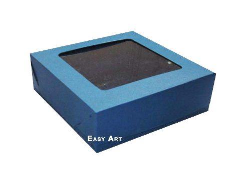Caixa para 16 Brigadeiros - Azul Marinho