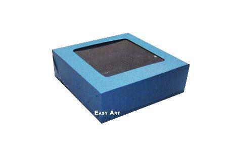 Caixa para 25 Brigadeiros - Azul Marinho