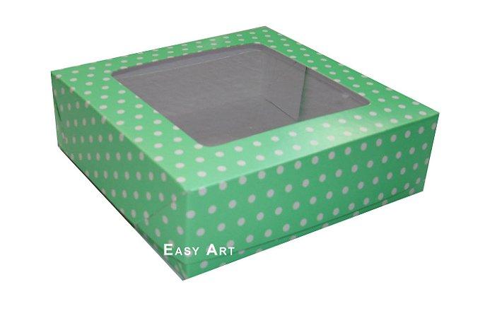 Caixas para Bombons Linha B - Com Visor - 20x20x3,7