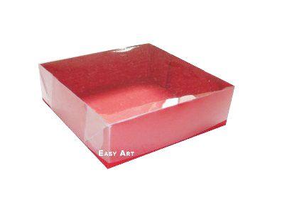 Caixas para 4 Brigadeiros - Vermelho