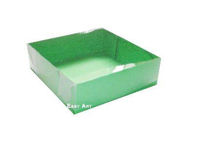 Caixas para 4 Brigadeiros - Verde Pistache