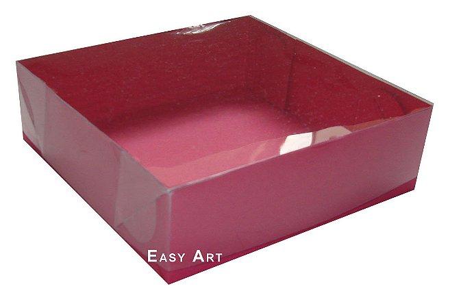 Caixas para Bombons Tampas transparentes - 20x20x3,7
