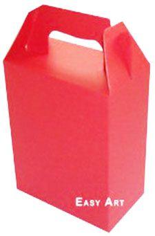 Caixa Maleta - Vermelho