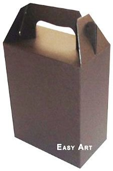 Caixa Maleta - Marrom Chocolate