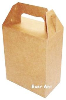 Caixa Maleta - Kraft
