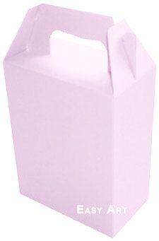 Caixa Maleta - Rosa Claro