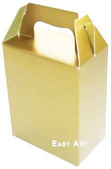 Caixa Maleta - Dourado Brilhante
