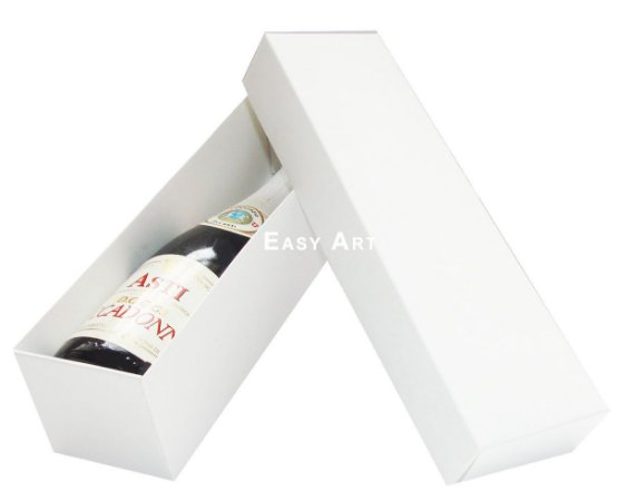 Caixa para Mini Vinho Sem Visor - Branco