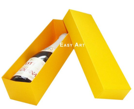 Caixa para Mini Vinho Sem Visor - Pct com 10 Unidades