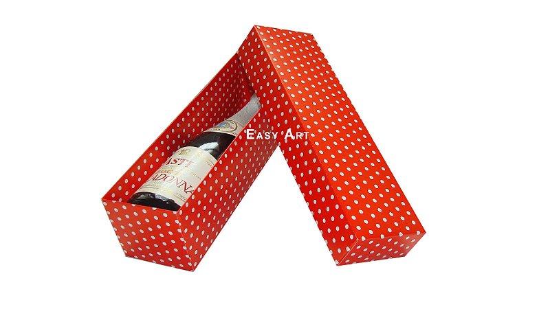 Caixa para Mini Champanhe / Vinho - Sem Visor - 21x6x6