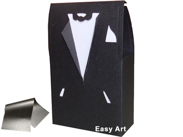 Caixinha Modelo Terno / Smoking - 9x4x14,5