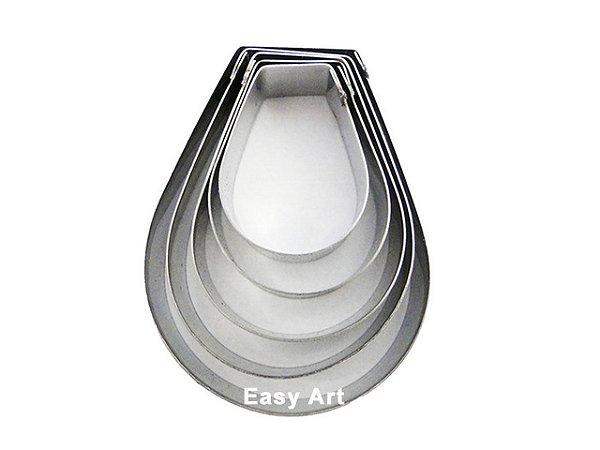 Cortadores Inox - Pétalas 5 Peças - 5P