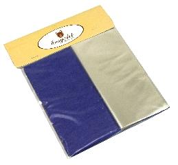 Kit para Bem Casados Azul Marinho - Cores lisas Crepom / Celofane - 18x18