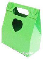 Caixa Maleta Coração - Verde Pistache