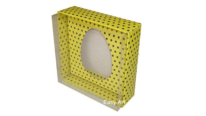 Caixas Ovos de Colher - 100 gramas Amarelo Poás Marrom