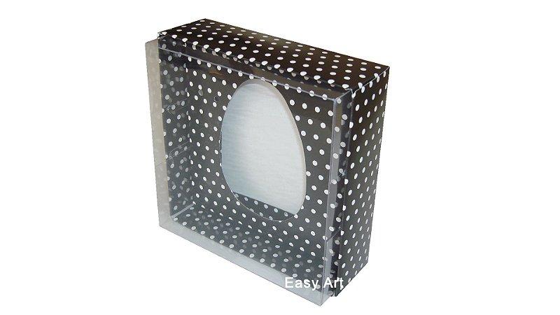 Caixas para Ovos de Colher - 100 gramas - 12,5x12,5x5