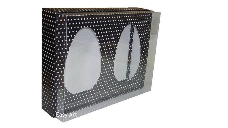 Caixas para Ovos de Colher 2 unidades de 500 gramas - 29x22x8