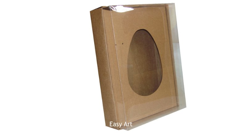 Caixas Ovos de Colher - 1K - Kraft