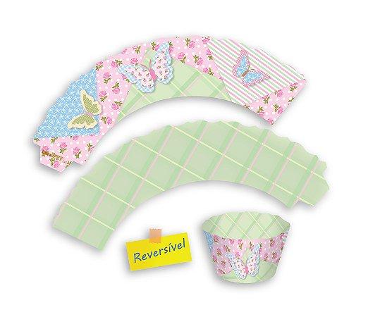 Wrappers / Capas para cupcakes Decorados - 8x5x4,5