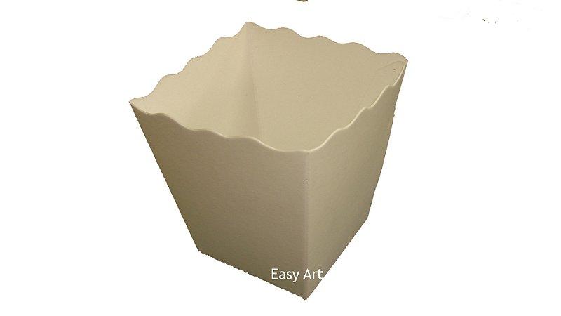 Cachepô / Caixa para Pipoca e Batatas - 5x5x7