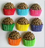 Confeitos Decorativos / Comestíveis de Açúcar - 2,5x2,5