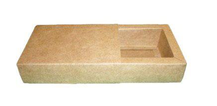 Caixas para 8 Brigadeiros - 20x11,5x4,5 / Kraft