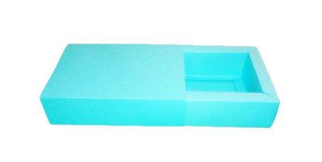 Caixas para 8 Brigadeiros - Azul Tiffany
