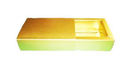 Caixas para 8 Brigadeiros - 20x11,5x4,5 / Dourado