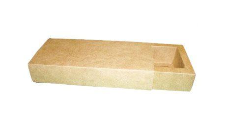 Caixa para 10 Brigadeiros - 24,5x11,5x4,5 / Kraft