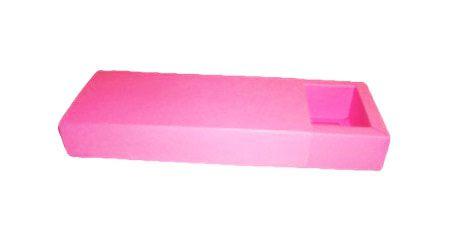 Caixa para 10 Brigadeiros - 24,5x11,5x4,5 / Pink