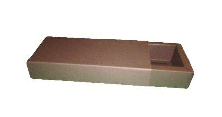 Caixa para 10 Brigadeiros - Marrom Chocolate