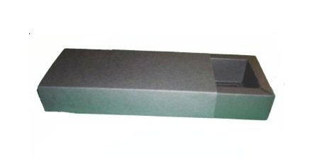 Caixa para 12 Brigadeiros - 20x16x4,5 / Preto
