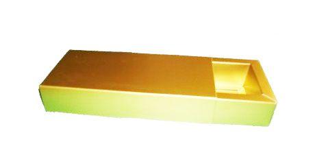 Caixa para 20 Brigadeiros - 24,5x20x4,5 / Dourado