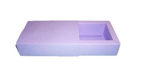 Caixas para 6 Brigadeiros - 16,5x11,5x4,5 / Lilás