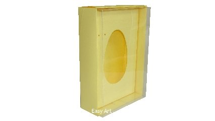 Caixas para Ovos de Colher - 350 gramas - 21,5x15x6,4