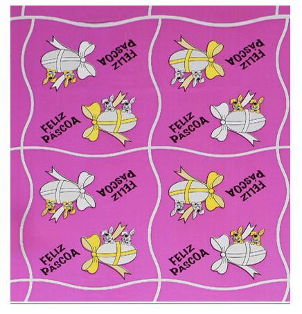 Papel Polimetalizado para Ovos de Páscoa - 70x70