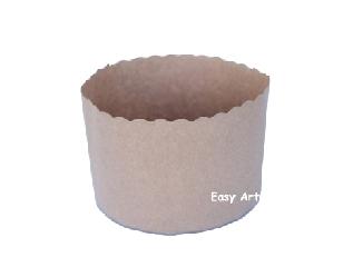 05 Formas Forneáveis para Panetones - 500 gr - 9,5x13