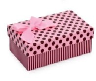 Caixas Rígidas para Presentes - 21x15x7