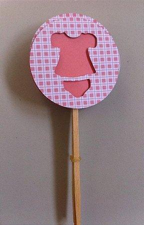 Toppers / Tags para Cupcakes - Pct com 6 unidades