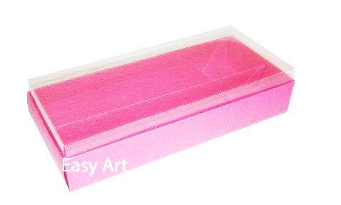 Caixa para 14 Macarons - Pink