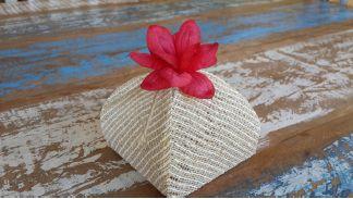 Mini Flores para Bem Casados / Tecido - Iris