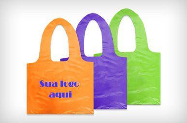 Sacola Plástica - Modelo Camiseta