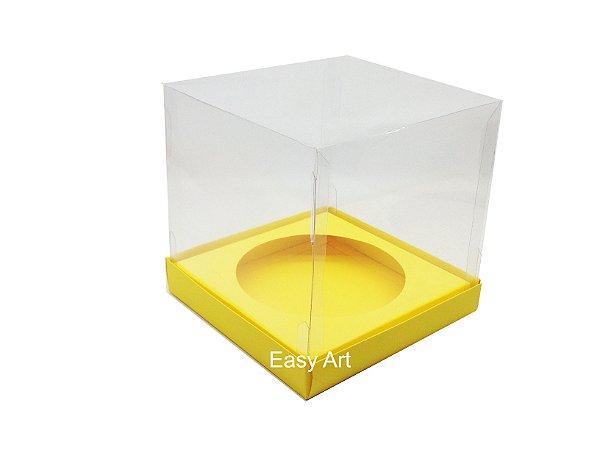 Caixa para Mini Panetones - Amarelo
