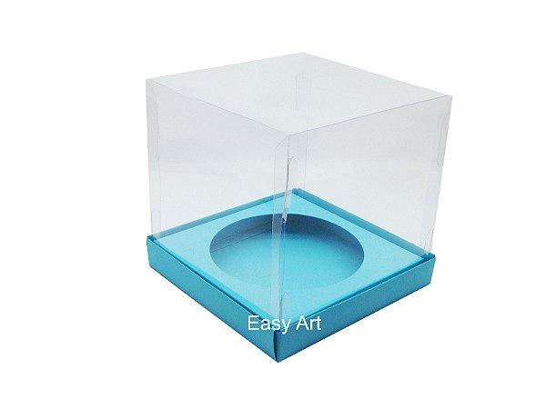 Caixa para Mini Panetones - Azul Tiffany