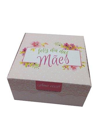 Caixinha Personalizada Feliz dia das Mães