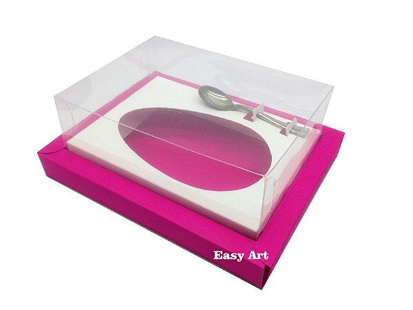 Caixa para Ovos de Colher 250g Pink / Branco