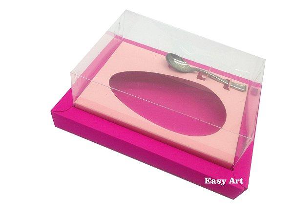 Caixa para Ovos de Colher 250g Pink / Salmão